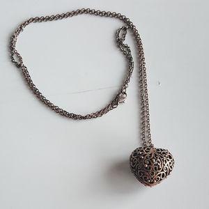 Jewelry - Filigree Heart Necklace
